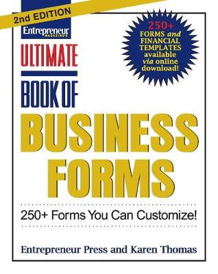 Ultimate Book of Business Forms: 250+ Forms You Can Customize - Ultimate Series (Paperback)