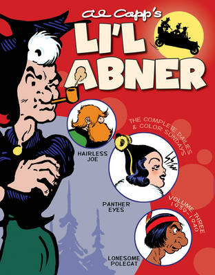 Li'l Abner: The Complete Dailies and Color Sundays: 1939-1940 Vol. 3 (Hardback)