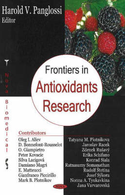 Frontiers in Antioxidant Research (Hardback)