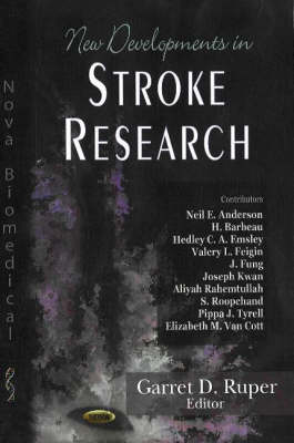 New Developments in Stroke Research (Hardback)