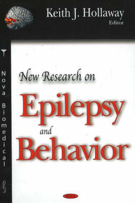 New Research on Epilepsy and Behavior (Hardback)