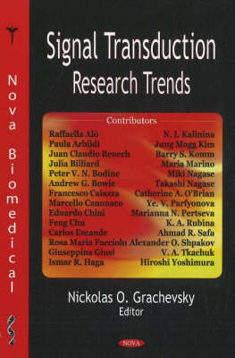 Signal Transduction Research Trends (Hardback)