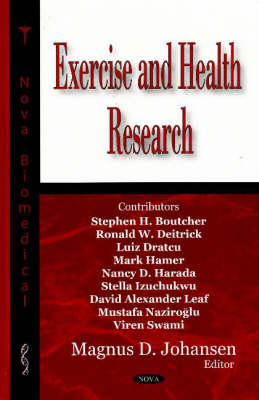 Exercise and Health Research (Hardback)