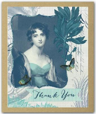 Greenthanks - The Blue Lady (Cards)