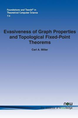 Evasiveness of Graph Properties and Topological Fixed-Point Theorems (Paperback)