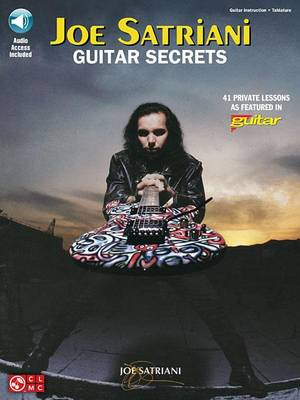 Joe Satriani: Guitar Secrets (Mixed media product)