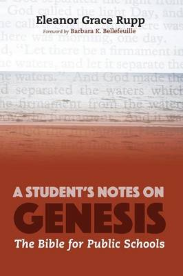 Cover A Student's Notes on Genesis
