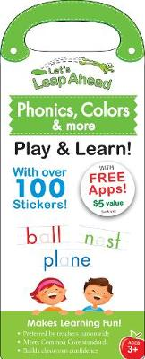 Let's Leap Ahead: Phonics, Colors & More Play & Learn! (Paperback)