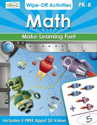 Math Wipe-off Activities: Endless Fun to Get Ready for School! (Paperback)
