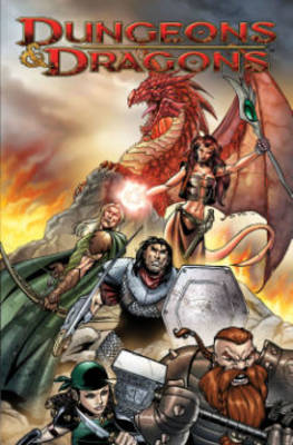 Dungeons & Dragons: Fell's Five (Hardback)