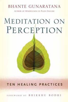 Meditation on Perception: Ten Healing Practices to Cultivate Mindfulness (Paperback)