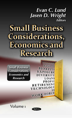 Cover Small Business Considerations, Economics & Research: Volume 1
