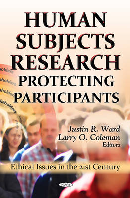 Human Subjects Research: Protecting Participants (Hardback)