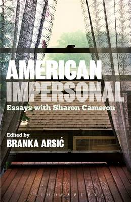 American Impersonal: Essays with Sharon Cameron (Paperback)