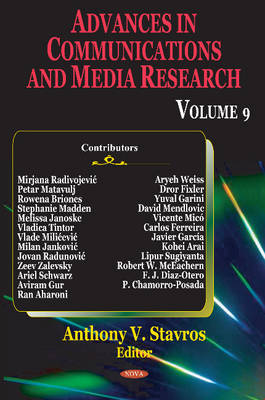 Advances in Communications & Media Research: Volume 9 (Hardback)