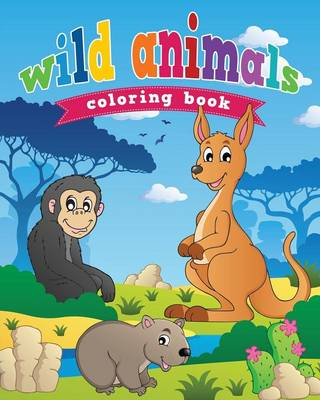 Wild Animals Coloring Book (Paperback)
