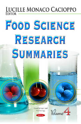 Food Science Research Summaries: Volume 4 (Hardback)