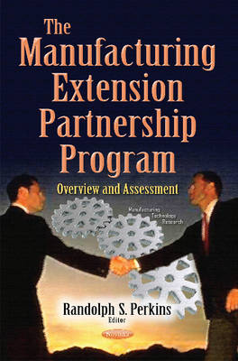 Cover Manufacturing Extension Partnership Program: Overview & Assessment