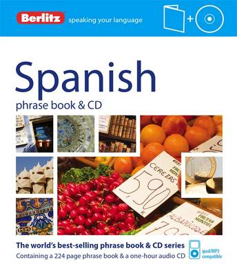 Berlitz: Spanish Phrase Book & CD - Berlitz Phrase Book & CD (Paperback)