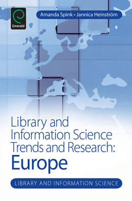 Library and Information Science Trends and Research: Europe - Library and Information Science Series (Hardback)