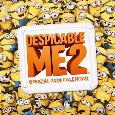 Official Despicable Me 2014 Calendar (Calendar)
