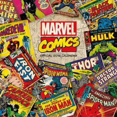 The Official Marvel - Retro Classic 2016 Square Calendar (Calendar)