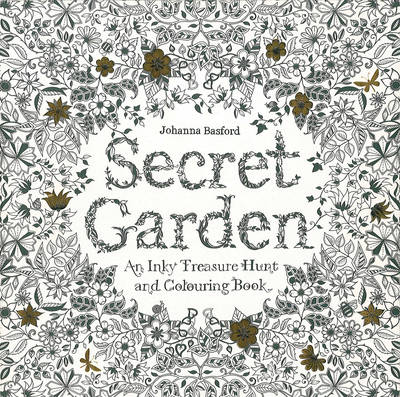 2 secret garden an inky treasure hunt and coloring book - Coloring Book For Grown Ups