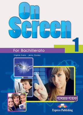 On Screen 1 Bachillerato: CLASS AUDIO CDS (SET OF 3) (SPAIN) (CD-Audio)