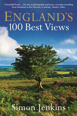England's 100 Best Views (Paperback)