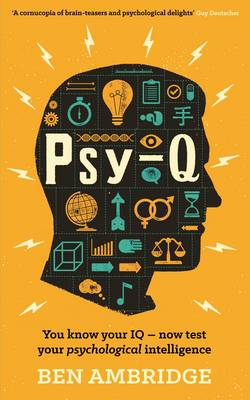 Psy-Q: You Know Your IQ - Now Test Your Psychological Intelligence (Paperback)