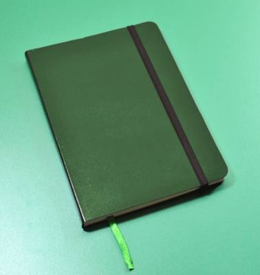 Monsieur Notebook Leather Journal - Green Sketch Medium A5 (Leather / fine binding)