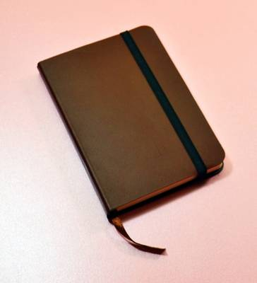 Monsieur Notebook Leather Journal - Brown Ruled Small A6 (Leather / fine binding)
