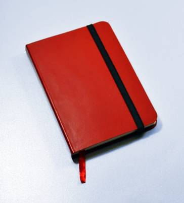 Monsieur Notebook Leather Journal - Red Plain Small A6 (Leather / fine binding)