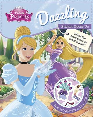 Disney Princess Dazzling Sticker Dress Up (Paperback)