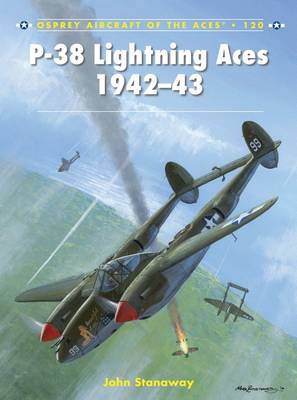 P-38 Lightning Aces 1942-43 - Aircraft of the Aces 120 (Paperback)