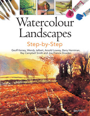Watercolour Landscapes Step-by-Step (Paperback)