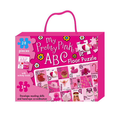 My Pretty Pink ABC Floor Puzzle - Floor Puzzles (Mixed media product)