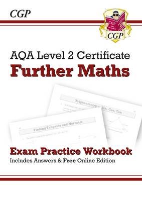AQA Level 2 Certificate in Further Maths - Exam Practice Workbook (Paperback)