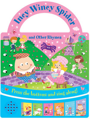 Incy Wincey Spider and Other Nursery Rhymes (Board book)