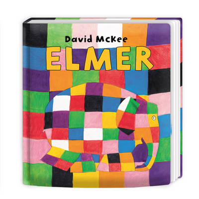 Elmer - Elmer 1 (Board book)