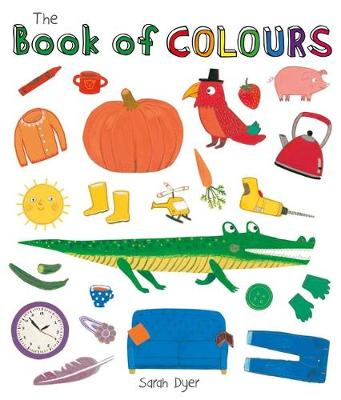 Book of Colours - Book of... (Board book)