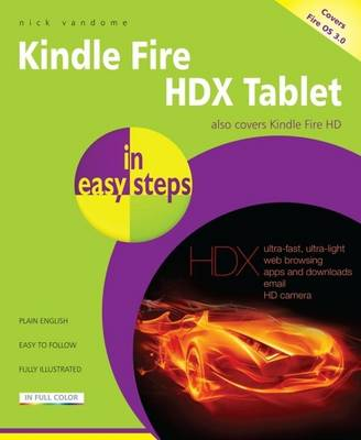 Kindle Fire HDX in easy steps - In Easy Steps (Paperback)