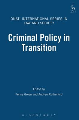 Criminal Policy in Transition - Onati International Series in Law and Society 2 (Paperback)