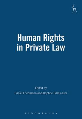 Human Rights in Private Law (Hardback)