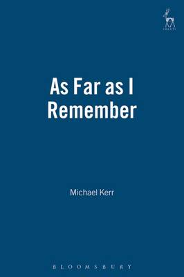 As Far as I Remember (Paperback)