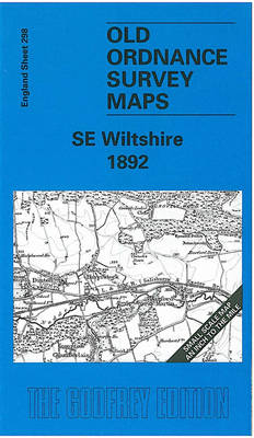 South East Wiltshire 1892: One Inch Map 298 - Old Ordnance Survey Maps of England & Wales (Sheet map, folded)
