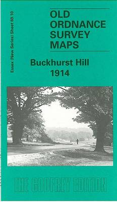 Buckhurst Hill 1914: Essex Sheet 69.10 - Old O.S. Maps of Essex (Sheet map, folded)