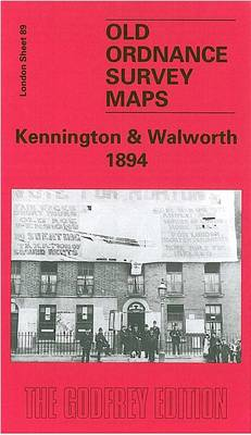 Kennington and Walworth 1894: London Sheet 89.2 - Old Ordnance Survey Maps of London (Sheet map, folded)