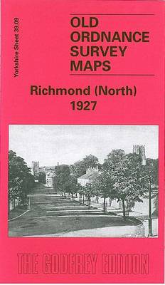 Richmond North 1927: Yorkshire Sheet 39.09 - Old O.S. Maps of Yorkshire (Sheet map, folded)