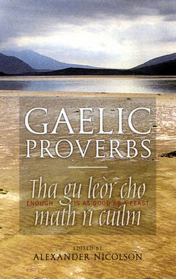 Gaelic Proverbs (Paperback)